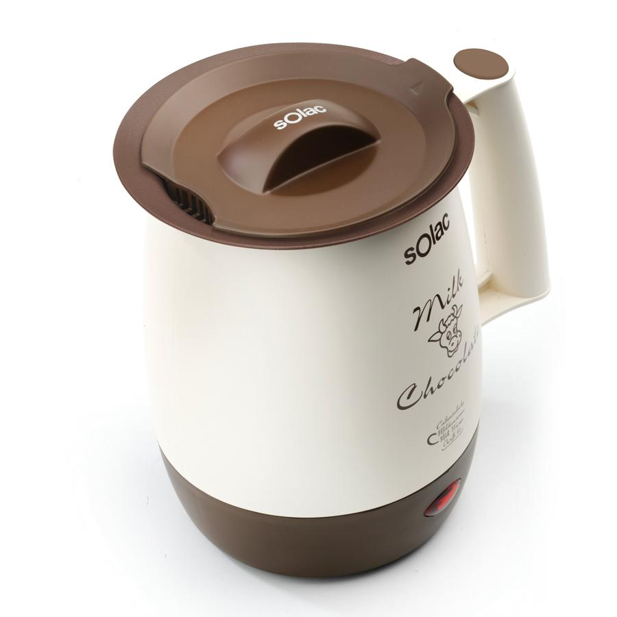 Solac 238555 Calienta leches chocolatera com Filtro Anti-Nata, 400 ...