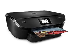 HP Envy 5540 - Impresora multifunción inalámbrica (Wi-Fi, b/n 12 ppm, Color 8 ppm), Color Negro