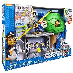Patrulla Canina Bizak 61926621 - Playset centro de rescate: Amazon ...