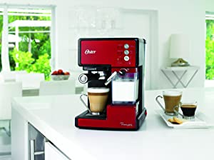 Oster Prima Cafetera automática para Cappuccino, Latte y ...