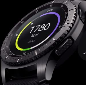 SAMSUNG Gear S3 Frontier - Reloj Inteligente, Color Gris Oscuro ...