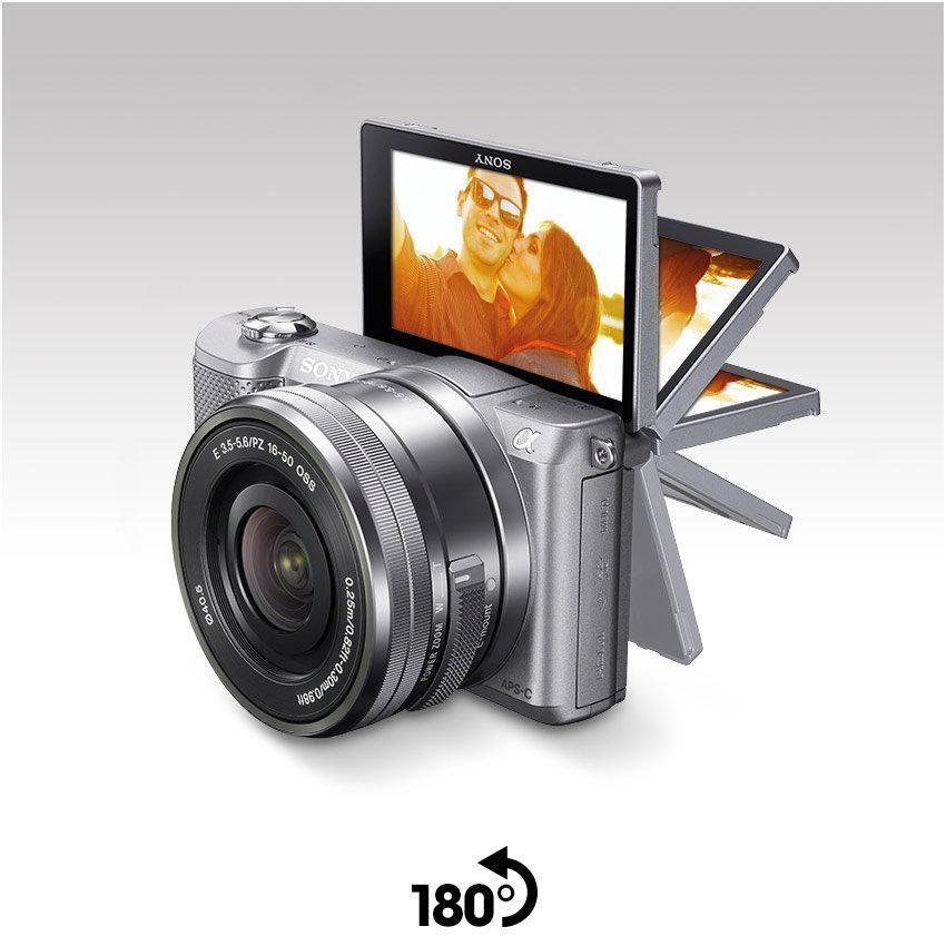 Sony A5000 - Cámara réflex Digital de 20.1 MP (Pantalla