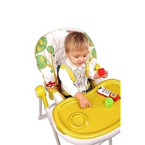 Piku Astronautas - Trona para bebés con bandeja regulable