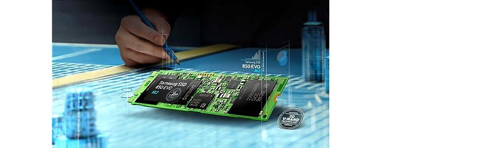 Samsung MZ-N5E1T0BW - Disco Duro Solido de 1 TB (SATA III, 850 EVO M.2), Color Verde: Samsung: Amazon.es: Informática
