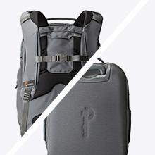 BP 300 AW / BP 400 AW: Un JumpKit extraíble organiza su equipo digital esencial como su tableta, smartphone, cables y auriculares.