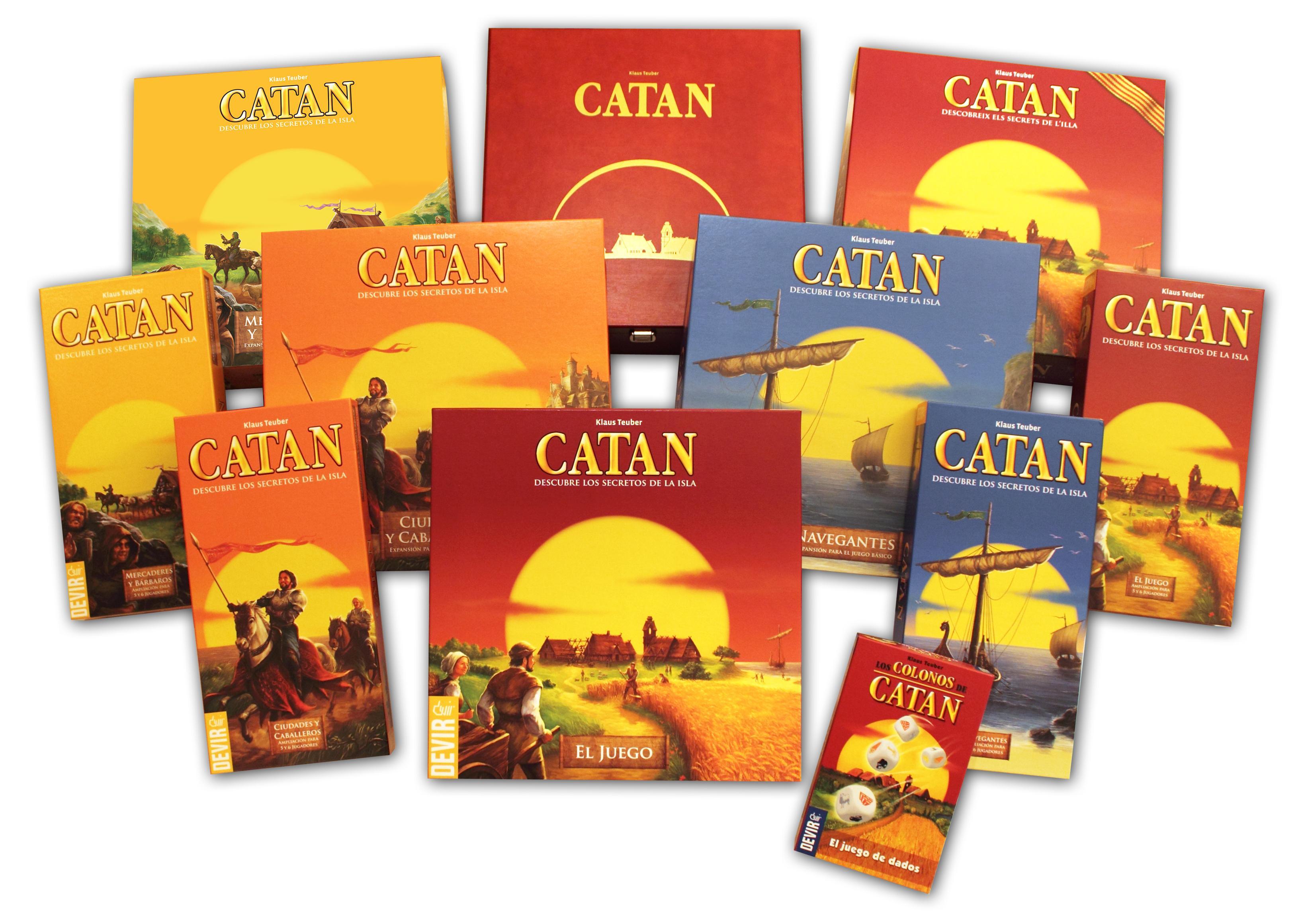 Devir - Catan, expansión Navegantes, juego de mesa (BGNAVEGANTES ...