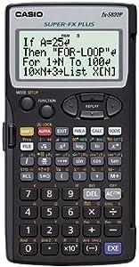 Casio FX-5800P - Calculadora programable, 15.1 x 81.5 x