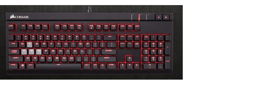 Corsair Gaming STRAFE - Teclado gaming mecánico