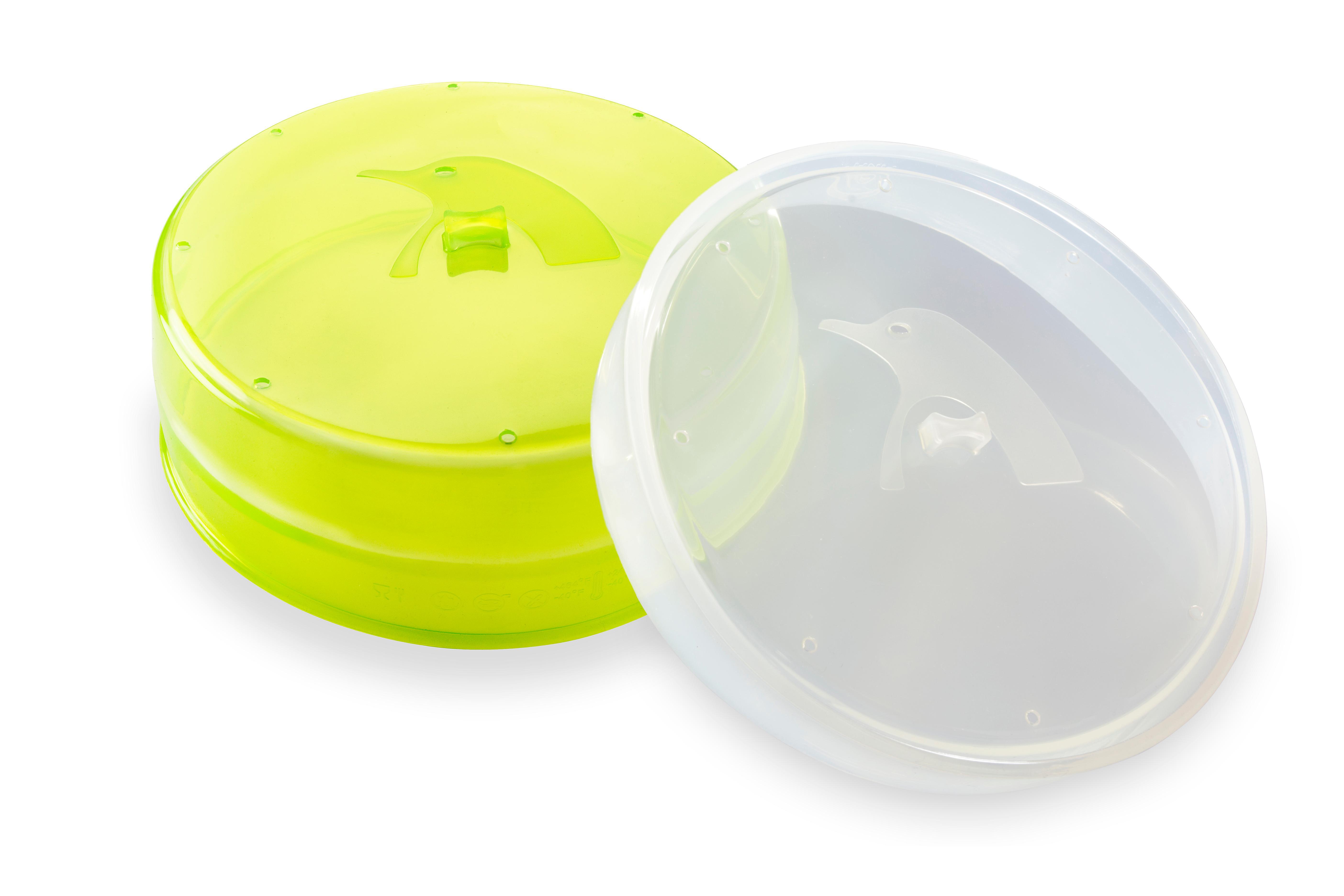 PINFI 81136 - Tapa para microondas, plegable, de silicona, 22 cm ...