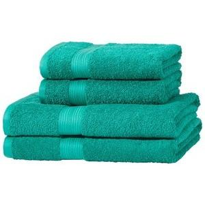 Este juego de toallas de algodón de AmazonBasics es perfecto para usarlas a diario y combinarlas fácilmente. El juego de toallas es muy ligero, ...