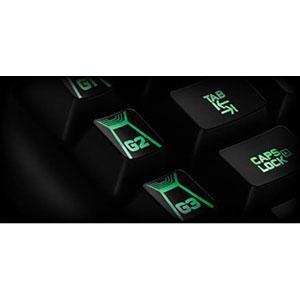 Teclado mecánico RGB para gaming