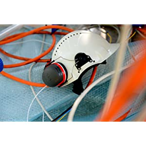 3M G3000 Casco de seguridad blanco con ventilación, arnés de ...
