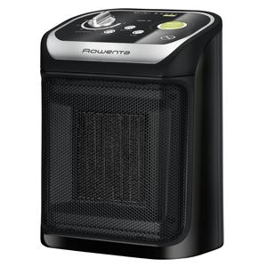 Rowenta Mini Excel Eco SO9265F0 Calefactor cerámico de rápido calentamiento con potencia regulable de 1.000 W 1.800 W, termostato, función Eco, ...
