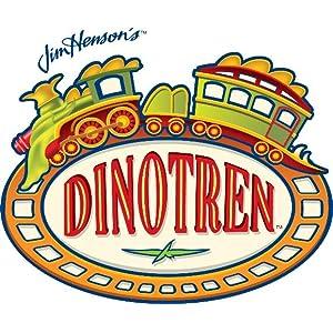 Tomy LC53108CS Dino tren Boris Tyrannosaurus T-Rex Interactivo