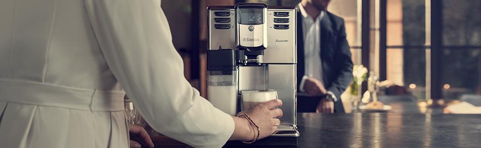 Saeco - Máquina de café espresso automática: Amazon.es: Hogar