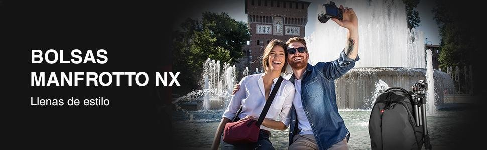 Manfrotto CSC NX - Bolsa de hombro, Gris: Amazon.es: Electrónica