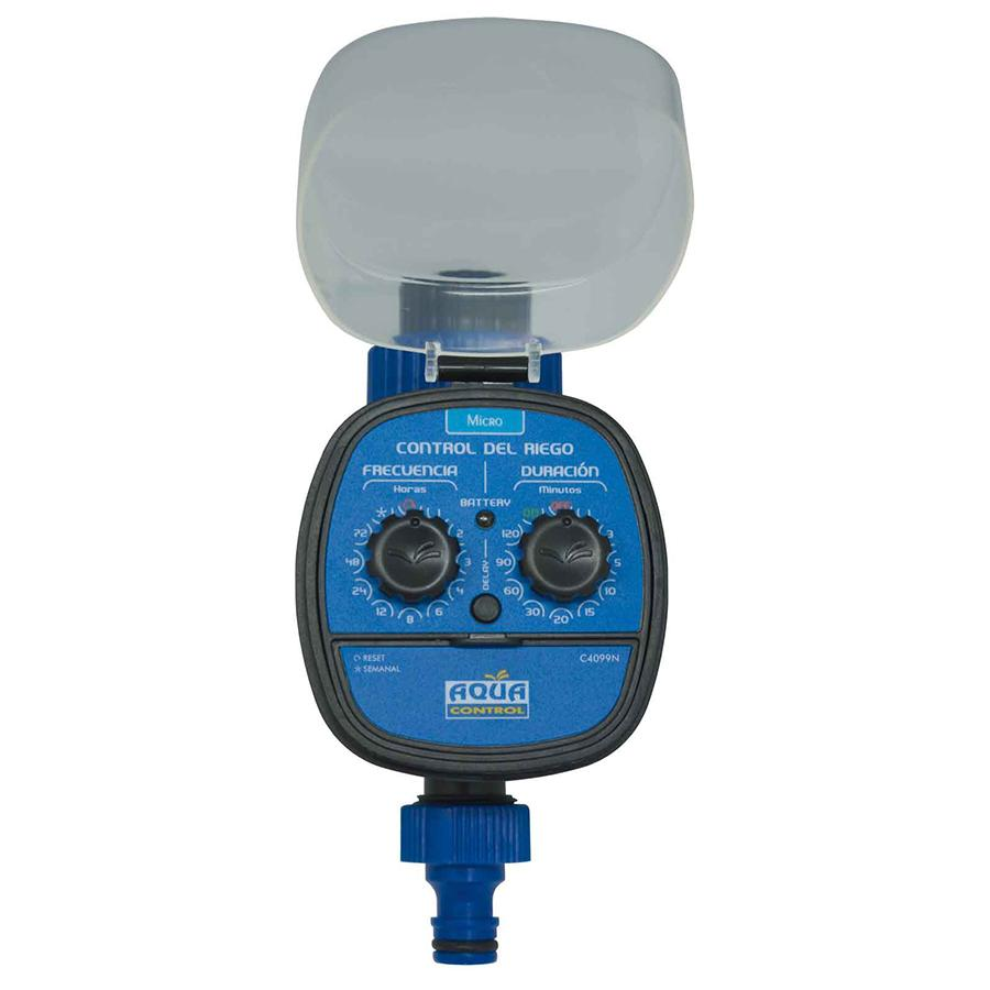 Aqua control c4099n programador de grifo con led azul - Programador para riego ...