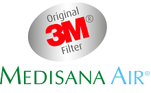 Medisana Air-Purificador de Aire, 1.5 W, plástico, Blanco: Amazon.es: Hogar