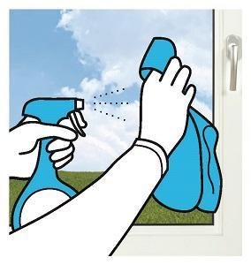 Vileda windomatic aspiradora limpiacristales con cuello for Aparato para limpiar cristales