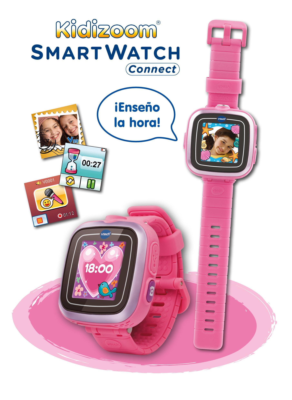 Vtech kidizoom reloj inteligente infantil - Hacer reloj de pared con fotos ...