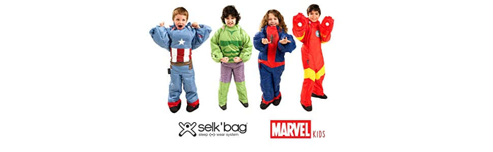 Saco de dormir KIDS Spiderman by Selk´bag