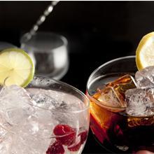 Set de copas combinados para gin tonic