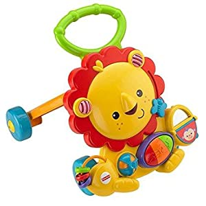 Fisher-Price - León Andador Musical (Mattel Y9854)