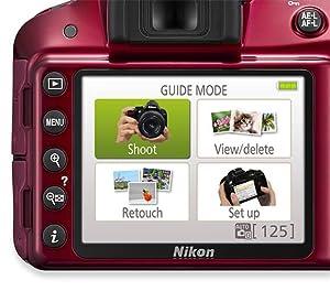 Nikon D3300 - Cámara réflex digital de 24.2 Mp (pantalla de 3 ...