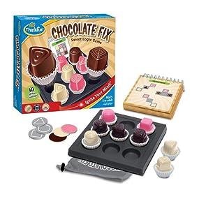 Think Fun - Chocolate Fix, Juego de Mesa (TF1530): Amazon.es: Juguetes y juegos