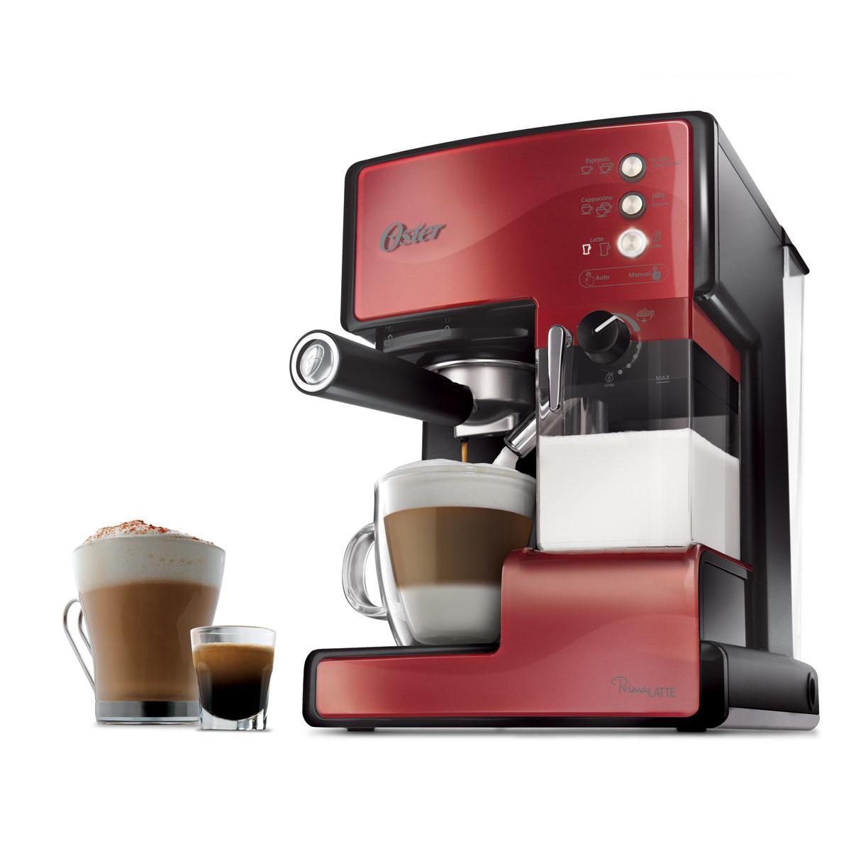 Oster Prima Latte Cafetera expresso con tratamiento de