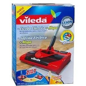 Vileda 123186 escoba el ctrica inal mbrica y recargable for Vileda 123186