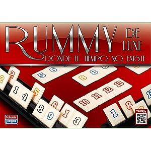 Falomir Deluxe Rummy de Luxe Mesa. Juego Clásico. (646396): Amazon ...