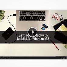 Kingston MobileLite Wireless G2 - Lector inalámbrico de