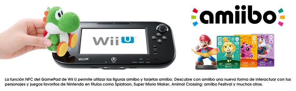 Nintendo Wii U - Consola, Premium Pack + Mario Kart 8 (Preinstalado) + Super Smash Bros.: Amazon.es: Videojuegos
