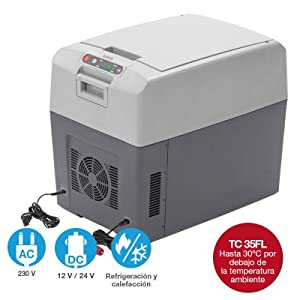 Amazon.es: Dometic TropiCool TC35FL- Caja termoeléctrica portátil ...