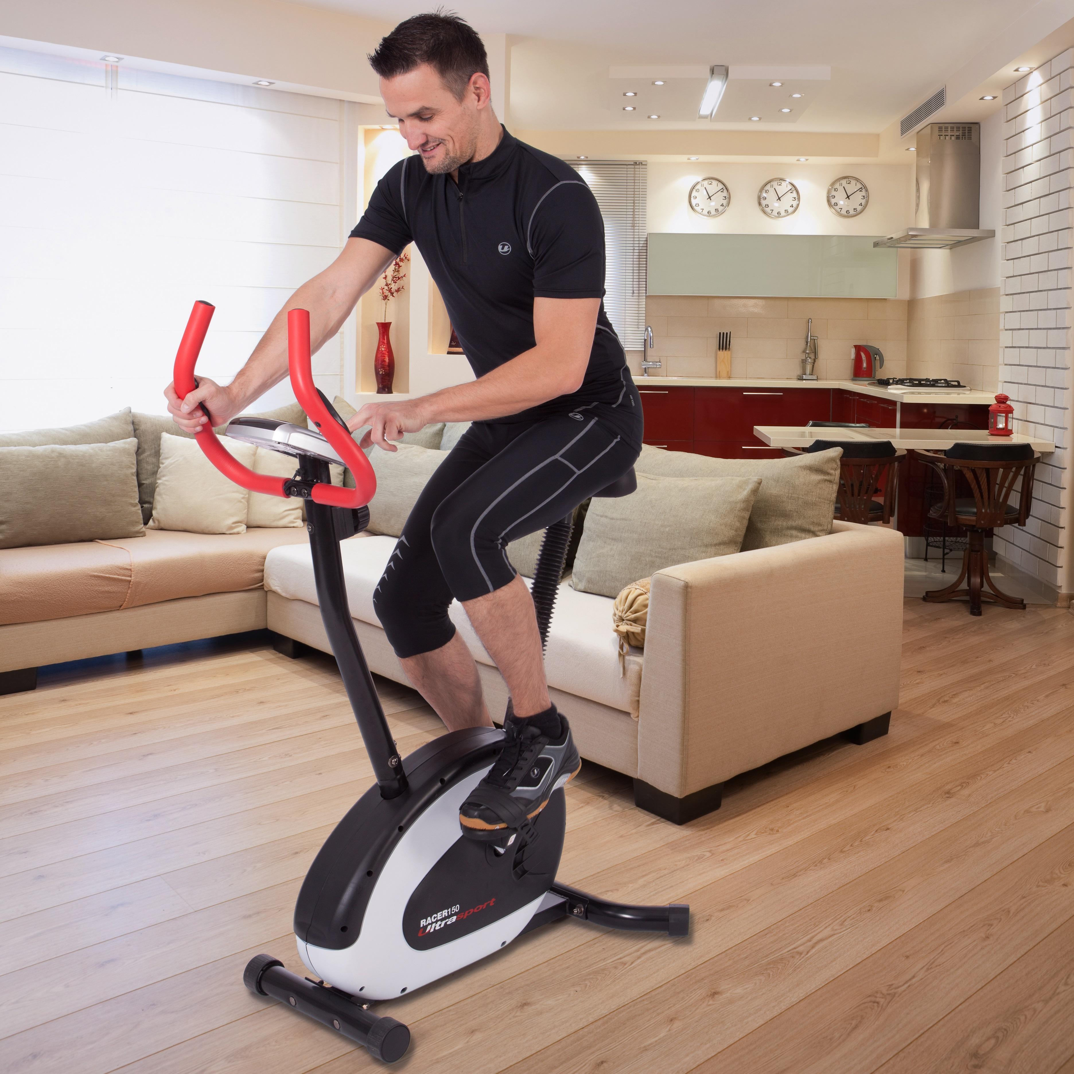 Ultrasport Bicicleta estática ergómetro, bicicleta fitness