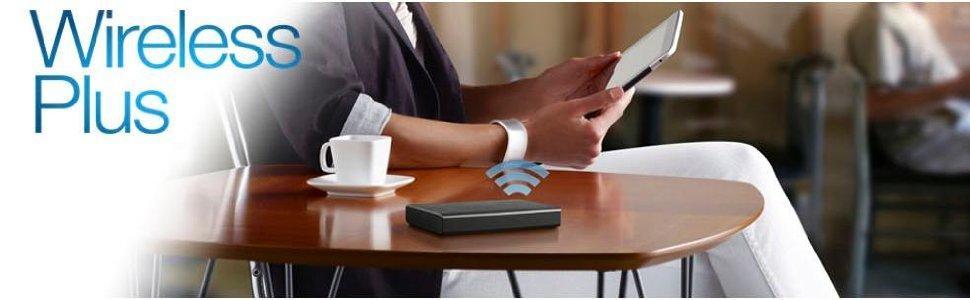 Seagate Wireless Plus - Disco duro externo