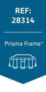 Intex Prisma Frame - Piscina desmontable, 488 x 244 x 107 cm, con ...