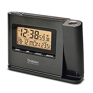 Oregon Scientific IWA80135 Reloj proyector, Negro: Amazon.es: Jardín