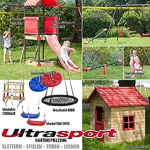 Ultrasport Muck - Columpio infantil: Amazon.es: Juguetes y juegos