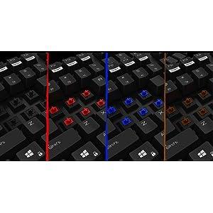 Ozone Strike Pro - Teclado para Gaming, Color Negro