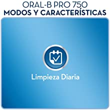 Oral-B PRO 750 CrossAction - Cepillo de dientes eléctrico