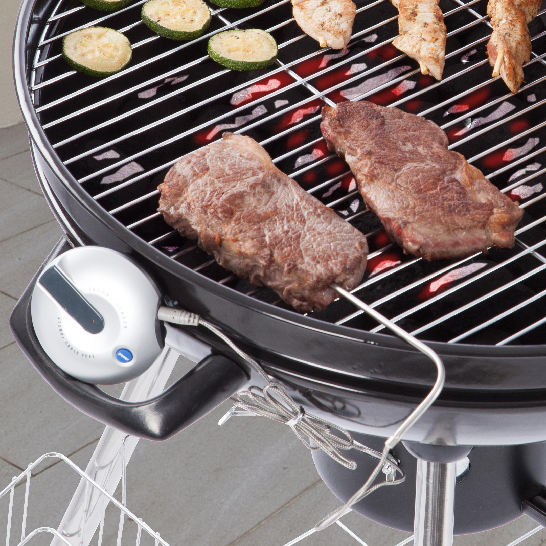 Ultranatura Termómetro de Cocina Digital con Sonda y Aviso