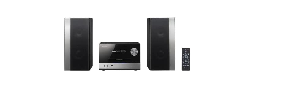 Pioneer X-PM12 - Microcadena (38 W, estéreo, Bluetooth, USB frontal), color plateado