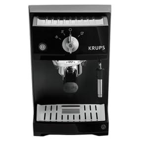 Krups XP5210 - Máquina espresso eléctrica, 1.1L, de café molido, acero inoxidable, negro: Amazon.es: Hogar