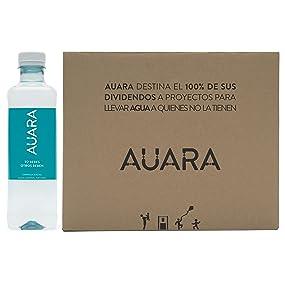 Auara Agua Mineral Natural sin Gas - 12 Botellas: Amazon