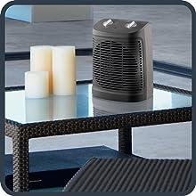 calefactor de tamaño compacto