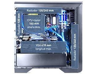 Nox Hummer ZX - NXHUMMERZX - Caja PC, ATX, Color Negro: Nox ...