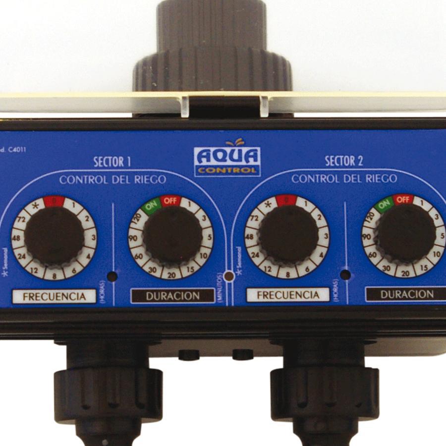 Aqua control c4011 programador de riego para grifo con - Programador para riego ...