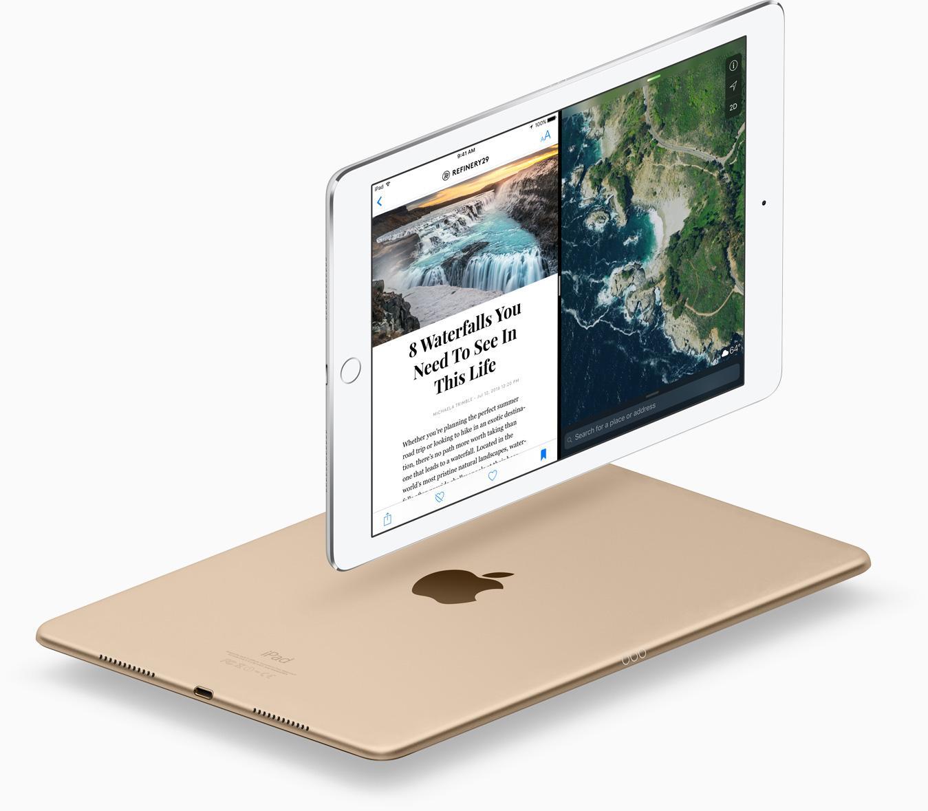 """Apple iPad Pro - Tablet (WiFi, 12.9"""", 128GB, A9X + M9"""